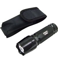 Powerzone FT-ORG04A Flashlight, 3 W, Cree LED, 2 hr