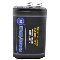 Powerzone 4R25 Heavy Duty Lantern Battery, 6 V