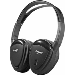 HEADPHONES SWIVEL EARPAD 1 CH.INFRARED;POWER ACOUSTIK