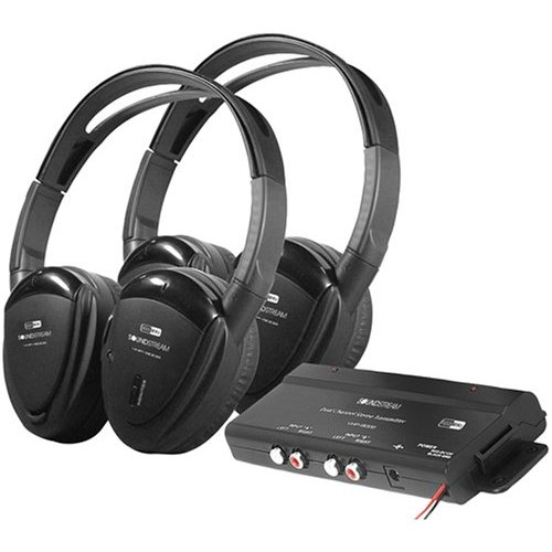 HEADPHONES SWIVEL EARPAD *PR* 2CH.RF 900MHZ W/TRANS;P.ACSTK.