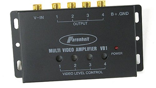 VIDEO AMPLIFIER POWER ACOUSTIK1 INPUT/4 OUTPUTS
