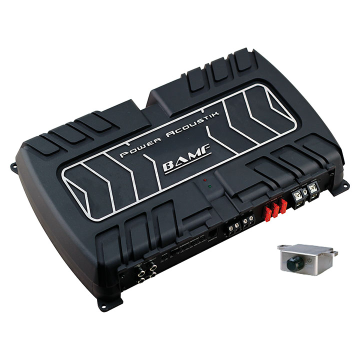 Power Acoustik BAMF Series 1 channel D class 5000 Watts