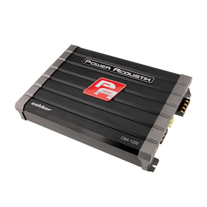 Power Acoustik Caliber 4CH 1200W Amplifier