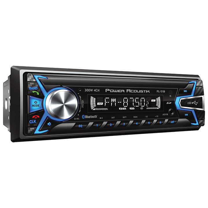 Power Acoustik AM/FM/CD Player USB BT