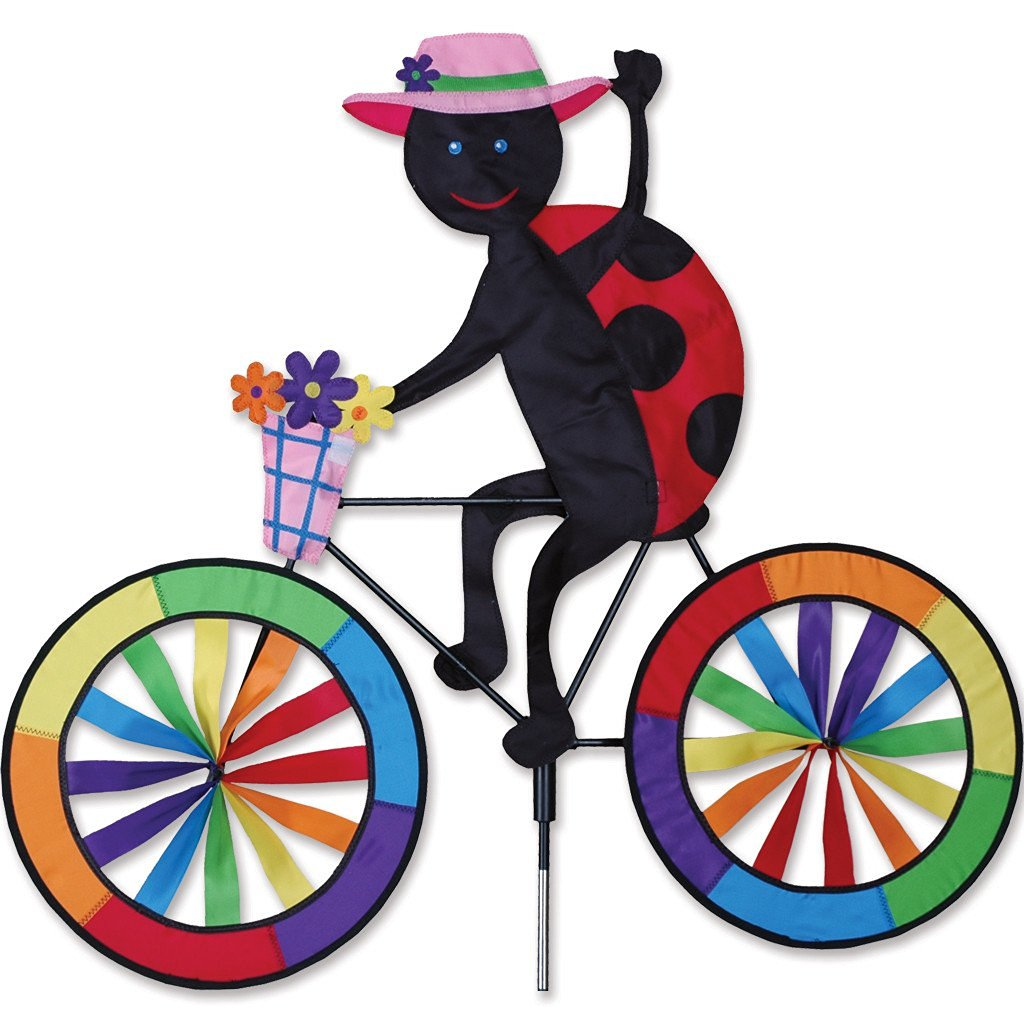Ladybug Bicycle Spinner