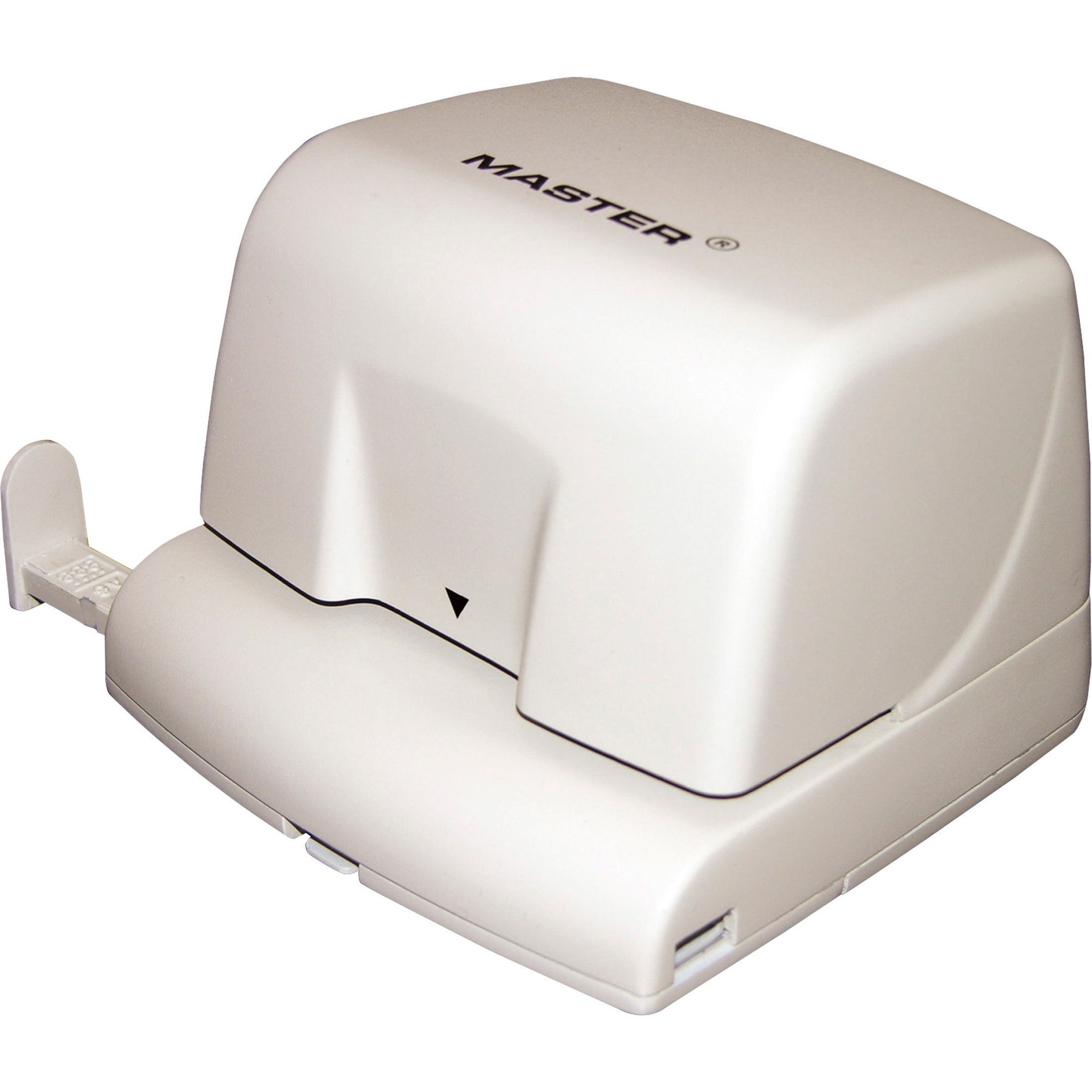 Electric Two-Hole Punch, 10-Sheet Capacity