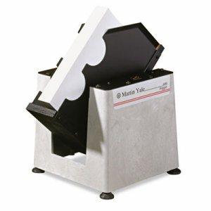 Tabletop Paper Jogger, 15-1/4w x 11-1/2d x 15-1/4h, Gray