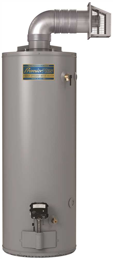 PREMIER PLUS� 40 GALLON DIRECT VENT NATURAL GAS WATER HEATER