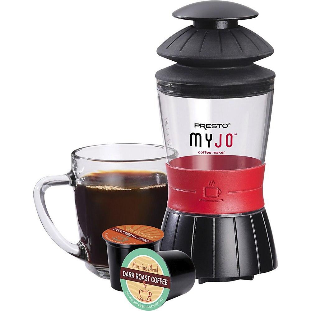 PRESTO 02835 MYJO COFFEE MAKER SINGLE SERVE USES K CUPS
