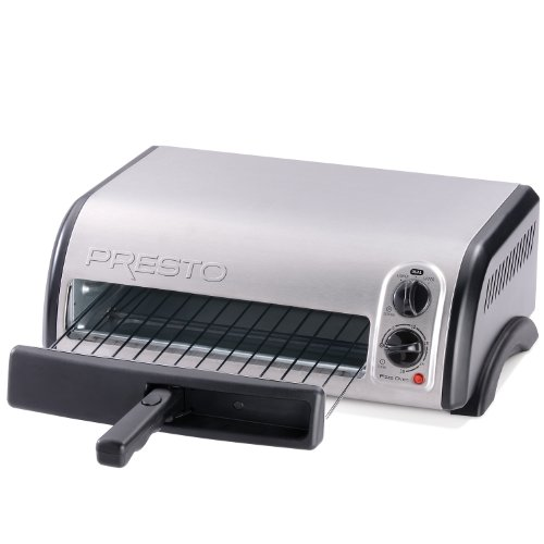 PRESTO 03436 STAINLESS STEEL PIZZA OVEN GREAT FOR BAKING 7-1