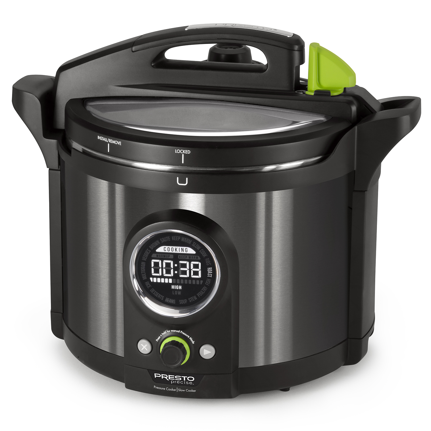 PRESTO 02143 10 QUART ELECTRIC PRESSURE COOKER WITH 19