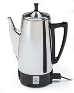 PRESTO 02811 STEEL COFFEE MAKER 12CUP 800WATTS