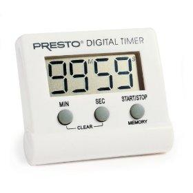 PRESTO 04213 TIMER ELECTRONIC DIGITAL EASY TO READ DISPLAY