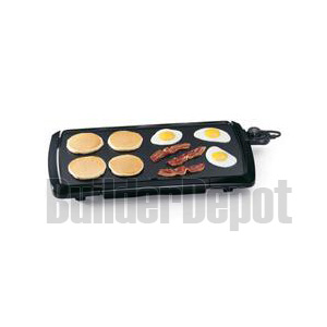 PRESTO 07030 GRIDDLE 20INCH COOL TOUCH LOW PROFILE