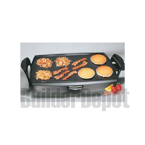 PRESTO 07039 GRIDDLE ELECTRIC 22INCH REMOVABLE DRIP PAN PRIDE