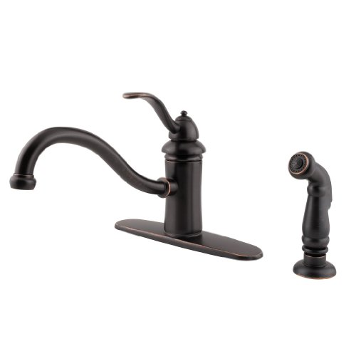 Lead Law Compliant 1.75 GPM 1 Handle Kitchen Marielle Tuscan Bronze