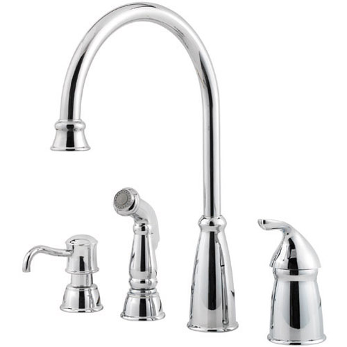 California Energy Commission Registered Lead Law Compliant 1.8 1 Handle Faucet Spray Avalon