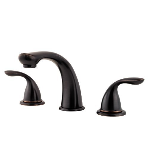 2 Handle Lever Roman Tub Trim Faucet *Pfirst Tuscan Bronze