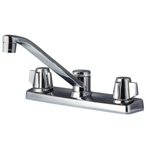 1.75 GPM Pfirst Series 2-Handle Kitchen Faucet, Polished Chrome
