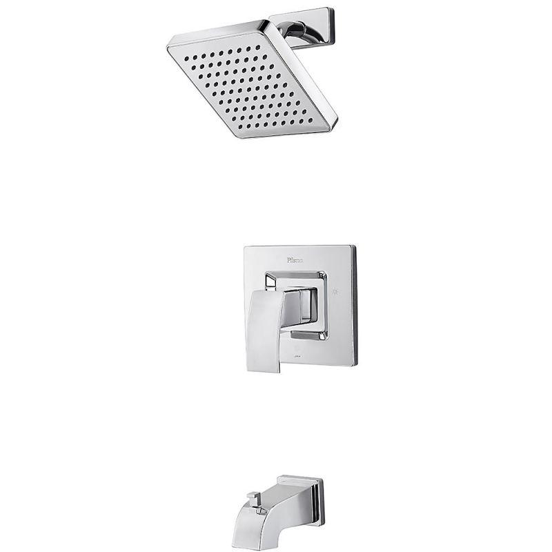 1 Handle Tub and Shower Trim Kit Polished Chrome 2.0 GPM