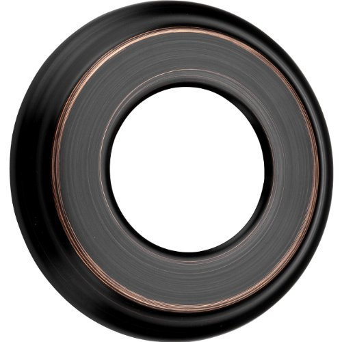 1 Handle Tub and Shower Wall Flange Washer Tuscan Bronze