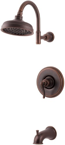 1 Handle T/S TRIM With Lever Rustic Bronze *ASHFIE