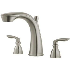 2 Handle Lever Roman Tub Trim Avalon Brushed Nickel
