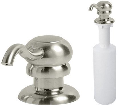 Pfister KSD-M1SS KSD-M1SS Marielle Soap Dispenser, Stainless Steel