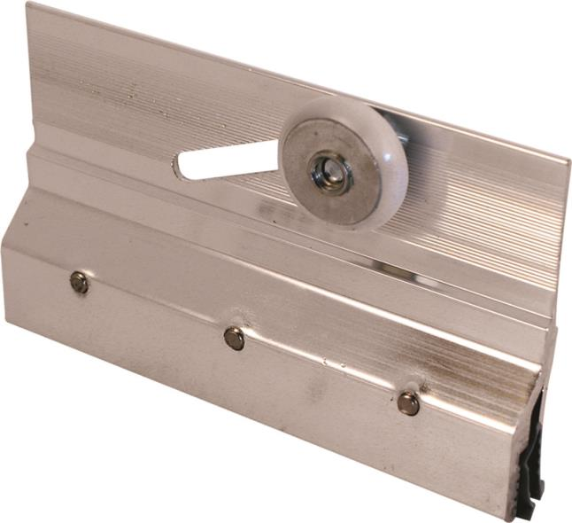 BRACKET SHOWER DOOR ALUM/CHR
