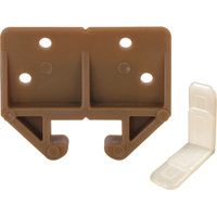 Prime Line R 7084 Drawer Track Guide Kit, 29/32 in W, Plastic