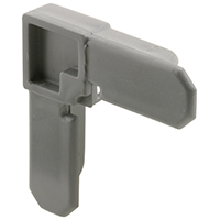 Prime Line PL7724 Square Cut Screen Frame Corner, 3/4 X 7/16 in, For Use With PL14039 screen frame