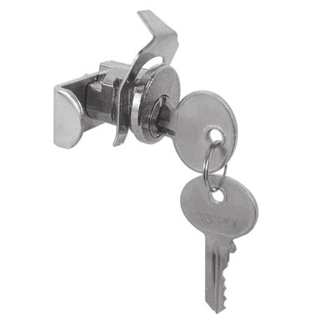 Prime-Line S 4137 Mail Box Lock, Keyed, Die Cast/Steel, Nickel Plated