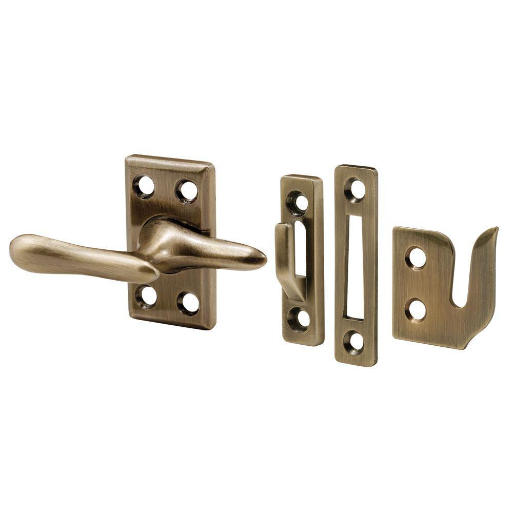 Prime-Line H 3683 Casement Sash Lock, 1-7/8 in H X 1-1/8 in W, Die Cast Zinc