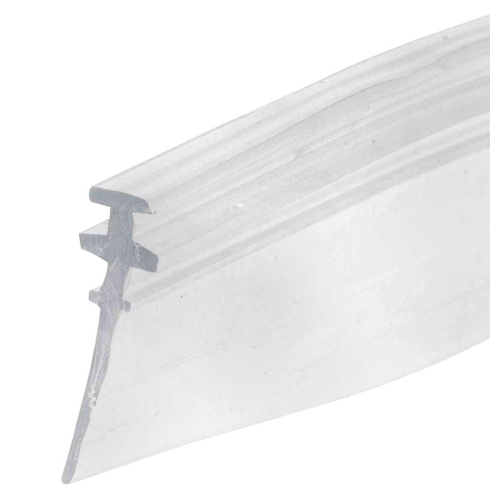 Prime-Line M 6228 Shower Door Bottom Sweep, 36 in L X 5/32 in W, Vinyl, Clear