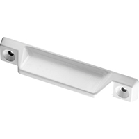 Prime Line F-2630 Deluxe Lever Sash Lift, 4 in L X 3/4 in W, 3-5/16 in Hole Center Distance