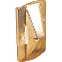Prime Line U 9938 Window Flip Lock, Steel, Brass Plated
