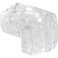Prime-Line Reflections Standard Mirror Holder Clip, 1/4 in, Glass/Acrylic, Clear