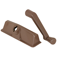 Entrygard TH24000 Dual Arm Crank Handle 5-1/4 in L 1-1/8 in W, Plastic, Bronze