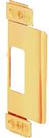 Brass Adjustable Door Strike