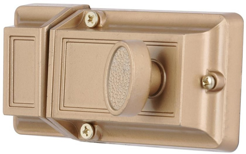 U9956 BRASS SGL CYL DEADLATCH