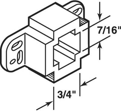 R7261 DRAWER TRAK BACK SUPPORT