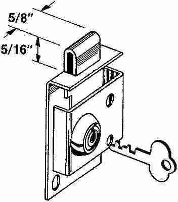 S4049 MAILBOX LOCK