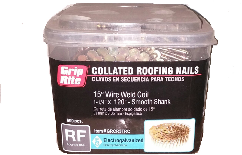 GRCR3TRC 1-1/4 IN. 15O ROOF NAIL