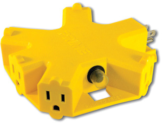 AD5OUTLET 5 OUTLET ADAPTER