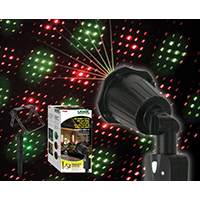 PROJECTOR LASER LIGHT RED/GREEN