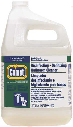 COMET DISINFECT SANITIZING BATHROOM CLEANER REFILL WITH SPRAY BOTTLE 1 GALLON