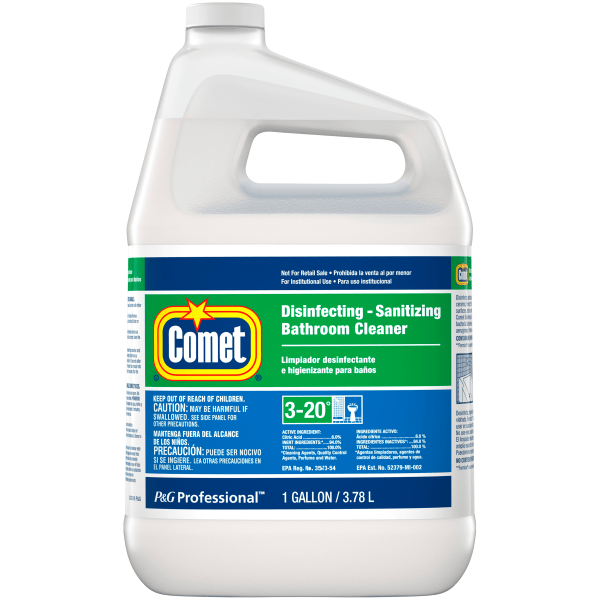 Disinfecting-Sanitizing Bathroom Cleaner, One Gallon Bottle