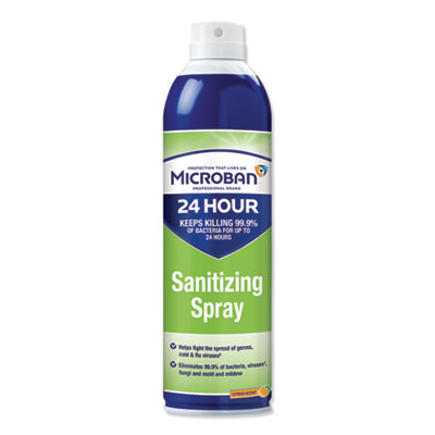 24-Hour Disinfectant Sanitizing Spray, Citrus, 15 oz