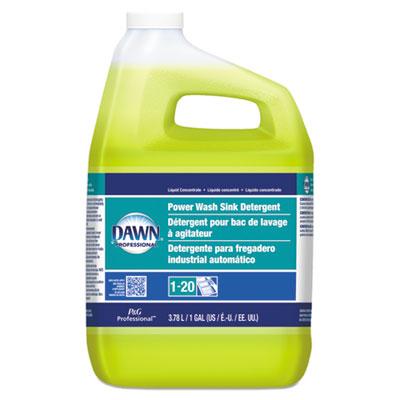 Power Wash Sink Detergent, Fresh Scent, 1 gal Bottle, 3/Carton