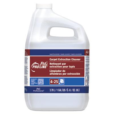 #25 Carpet Extraction Cleaner, Peach Scent, 1 Gallon Bottle, 4/Carton